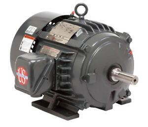 5 Hp Electric Motor 3 Phase 1800 Rpm Us Motor 184t Tefc Inverter Duty Free Ship