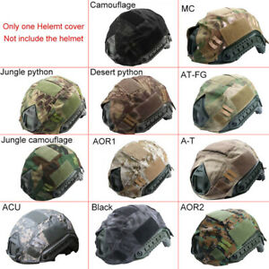 Sport Airsoft Paintball Tactical Military Gear Combat Fast Helmet Cover Tools US