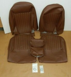 New Seat Cover Kit Seat Upholstery Set For Triumph Spitfire 1973 1980 Brown