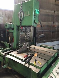 Doall Model Tf 14 Vertical Band Saw