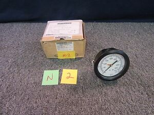 Marshall Air Steam Dial Indicator Pressure Gage 400 Psi 2800 Kpa Military Part