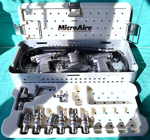 Zimmer Microaire Powermaster Pneumatic Set Saw Drill 7100 Attachments