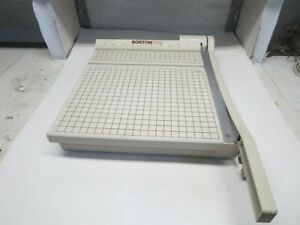 Vintage Gently Used Boston 2612 Paper Cutter Guilotine Cutter 12