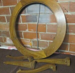 Occasional Coffee Table Round Vintage 4 Queen Ann Legs