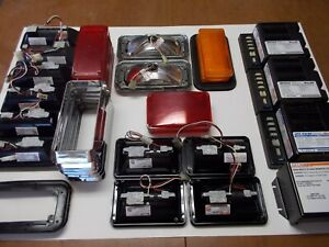 Whelen Strobe Lights With Power Supply s Fire Rescue Vehicle Safety Package