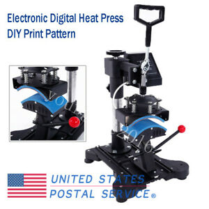 Electronic Digital Transfer Cap Desktop Machine Digital Heat Press Print Pattern