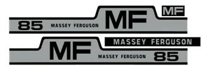 Massey Ferguson 85 Tractor Hood Grille Decal Set Sticker Vintage 265 255 1105
