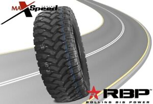 Qty Of 1 Rbp Repulsor Mt 37x13 50r20lt 127q All Terrain Mud Tires Mt