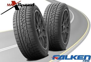 qty Of 2 Falken Ziex Ze 950 A s 195 50r15 82h Blk All Season Performance Tires