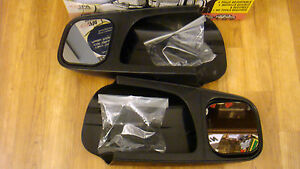 New Cipa 10600 Towing Mirror Extension Pair 97 04 Venture Silhoutte Trans Sport
