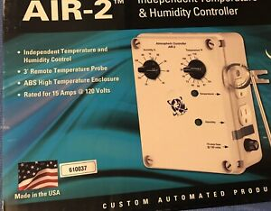 Cap Air 2 Independent Temperature And Humidity Controller