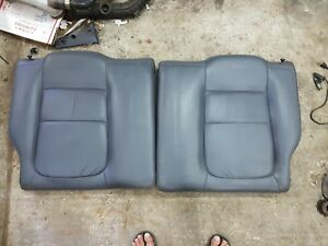 94 01 Acura Integra Gsr Coupe Oem Top Rear Gray Leather Seat Dc2 Db8 Eg6 Eg9 Em1