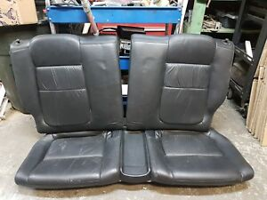 94 01 Acura Integra Gsr Coupe Oem Rear Black Leather Seats Dc2 Db8 Eg6 Eg9 Em1