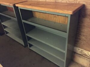 Vintage Industrial Steel Cabinet Shelve Original Finish