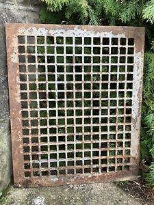 Large Heavy Victorian Style Cast Iron Grate Fireplace Architecture Garden 2