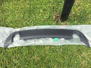 15 19 Oem Dodge Charger Rear Bumper Valance Police Exhaust Round Cut Outs Mopar