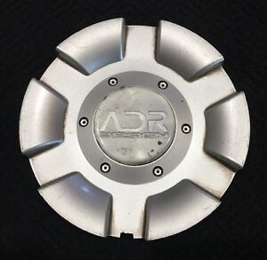 Adr Design Adr29 1 Custom Wheel Center Rim Cap Lug Hub Cover Aftermarket Silver