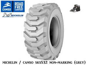 Michelin Camso Sks532 Non marking Skid Steer Tires