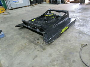 Skid Steer Brush Mower Hog 72 Inch New Ms Attachments Bobcat Case Volvo Cat