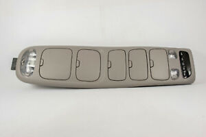 2001 2007 Toyota Sequoia Overhead Console Map Lights Homelink Storage Display
