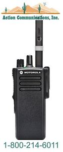 New Motorola Xpr 7350 Vhf 136 174 Mhz 5 Watt 32 Ch Non display 2 way Radio
