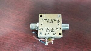 Mini circuits Zfbt 2g 75 2a 1 Amplifier