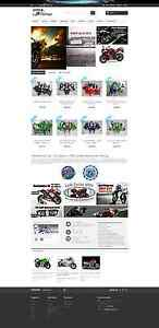 Niche Motorcycle Fainrings Ecommerce Store Website Ultimatefairings com Business