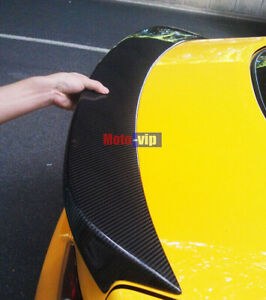 For Hyundai Genesis Real Carbon Fiber Spoiler Performance Rear Trunk Wing Coupe