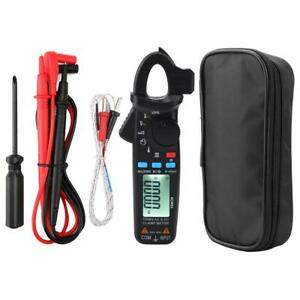 Acm91 1ma Digital Clamp Meter True Rms 6000 Counts Meter Low Impedance Tester