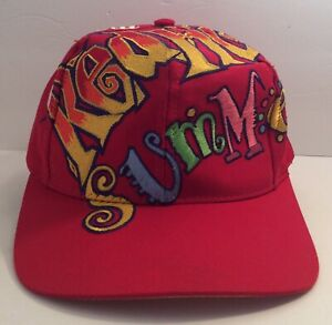 e0c08a5d6d5 Vintage Coca Cola The Game Red Hot Summer Big Logo Snapback Cap Hat Taiwan  USA