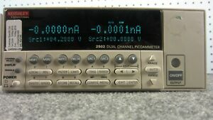 Keithley 2502 Dual channel Picoammeter With Ieee 488 And Rs 232 Interfaces a