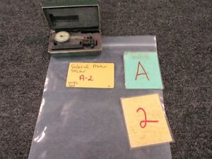Federal Dial Indicator Testmaster T 1 Jeweled 001 Test Precision Gauge Used