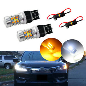 Switchback 28 Smd Led Kit For 2016 2017 Honda Accord As Turn Signal Lights Drl