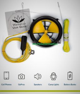 Waterlily Usb Water Wind Generator Battery Charger For Goal Zero Ac Power Bank