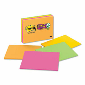 Sticky Notes In Rio De Janeiro Colors 8 X 6 45 sheet 4 pack 7 Packs