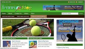 Tennis Store Website With Amazon Affiliate Installation Free Hosting