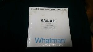 Whatman 934 ah Glass Microfibre Filters 110mm Nos Pack Of 100