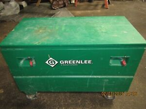 Greenlee 2448 Gang Box Job Box Tool Box With Casters