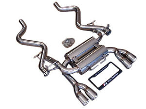 Fit Bmw E90 E92 M3 08 13 Top Speed Pro 1 Rear Section Exhaust Systems Bevel Tips