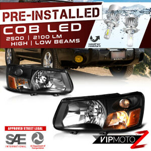 cree Led Bulb Installed 03 04 Subaru Forester Factory Style Headlight Assembly