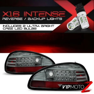 high power Cree Backup Led Tail Lamps 97 03 Pontiac Grand Prix Gtp gt se 2 4dr