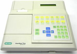 Bio rad Smartspec Plus Uv vis Spectrophotometer Dna Rna Quantitation Biorad