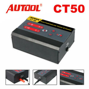 Autool Ct50 Car Fuel Injector Tester Fuel Pump Pressure Pulse Cleaner Tester