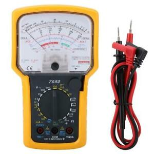Kt7050 Ohm Test Meter Analog Multimeter Ohmmeter Ac dc 500v With Mirror Function