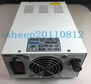 Ac100 120v To 0 15vdc 80a 1200w Output Adjustable Switching Power Supply
