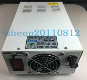 Ac100 120v To 0 110vdc 11a 1200w Output Adjustable Switching Power Supply