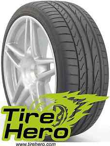 235 35zr19 Bridgestone Potenza Re050a Blk 87y New Set Of 4