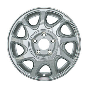 Chrome Plated 9 Slot 16x6 5 Factory Wheel 1997 2000 Buick Regal