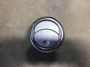 1 One 2005 2009 Ford Mustang Silver Chrome Heater Ac Air Dash Vent Vents Round
