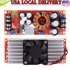 1500w 30a Dc dc Boost Converter Step up Power Supply Module In 10 60v Out 12 90v